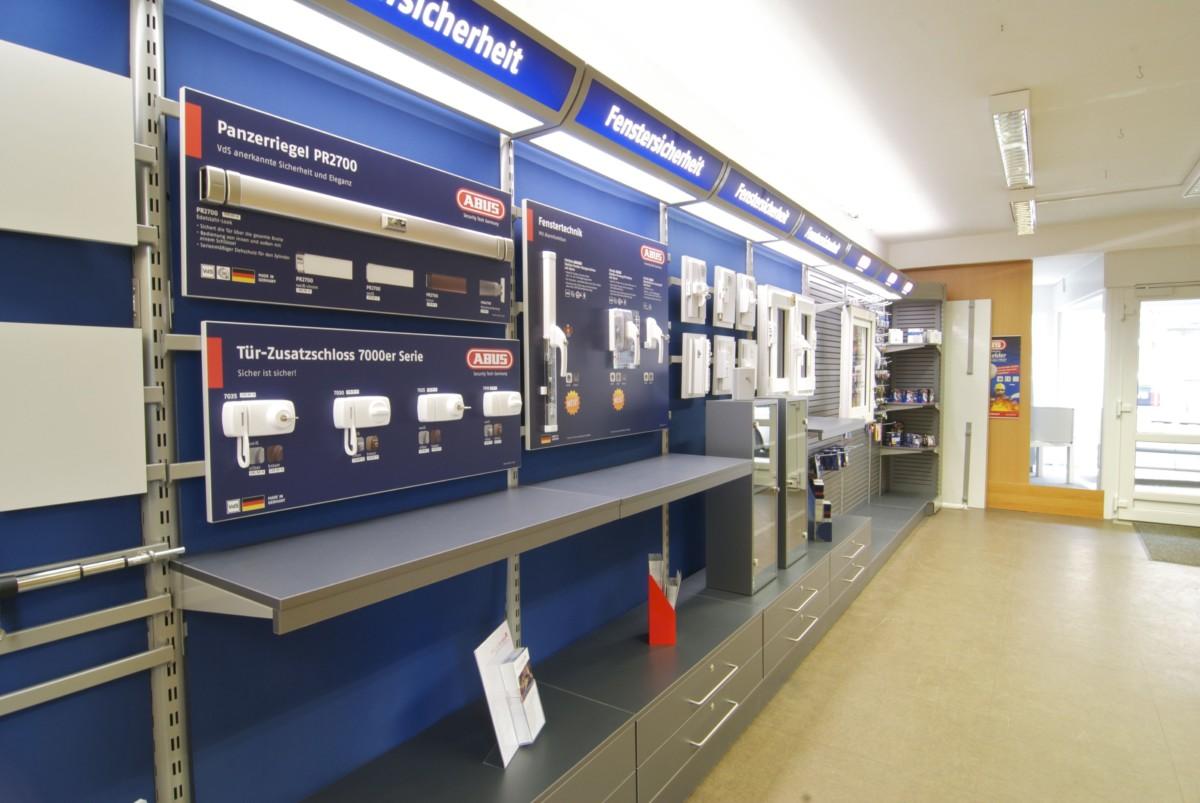 Sicherheits-Austellung von BWB Sicherheitstechnik Kiel