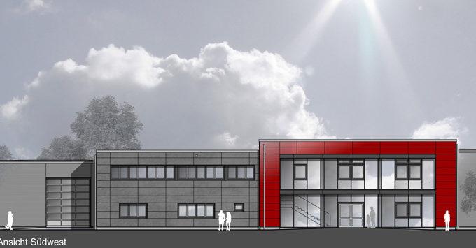 Projekte Von BWB Sicherheitstechnik Kiel - Zutrittskontrollanlage Feuerwehr Preetz