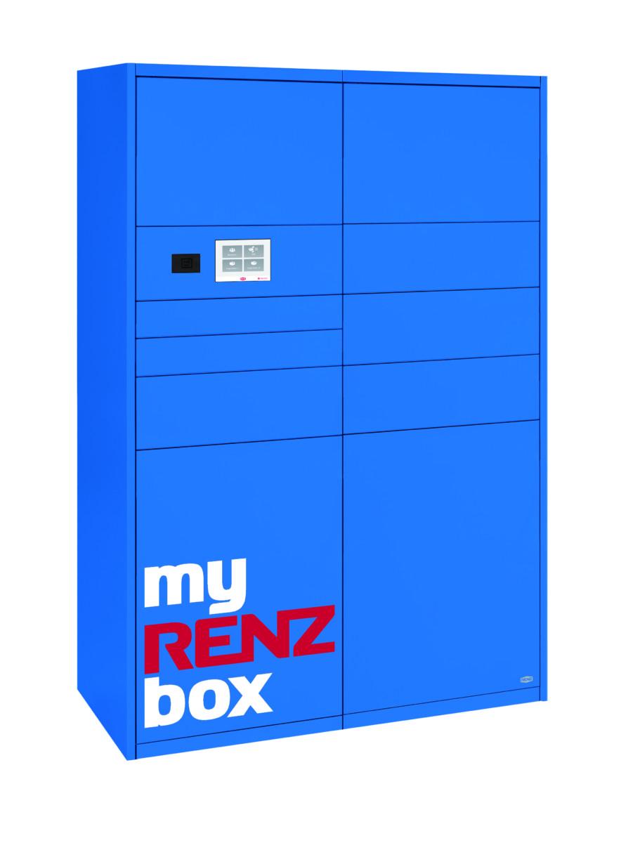 Paketboxen von RENZ für Mehrfamilienhäuser