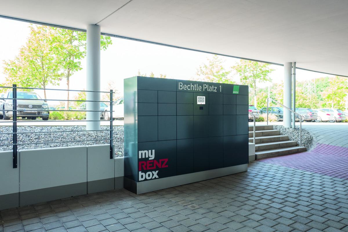RENZ Abholanlage - BWB Kiel