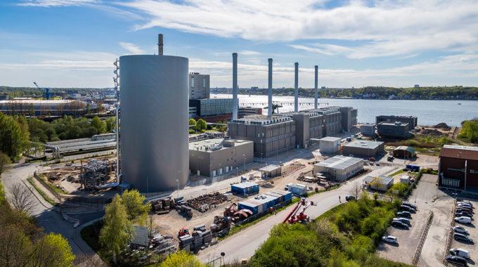 Sicherheitstechnik Für Das Küstenkraftwerk K.I.E.L. Der STW Kiel - BWB Sicherheitstechnik Kiel