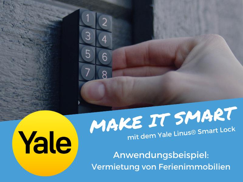 Linus® Smart Lock - Anwendungsbeispiel Ferienimmobilie
