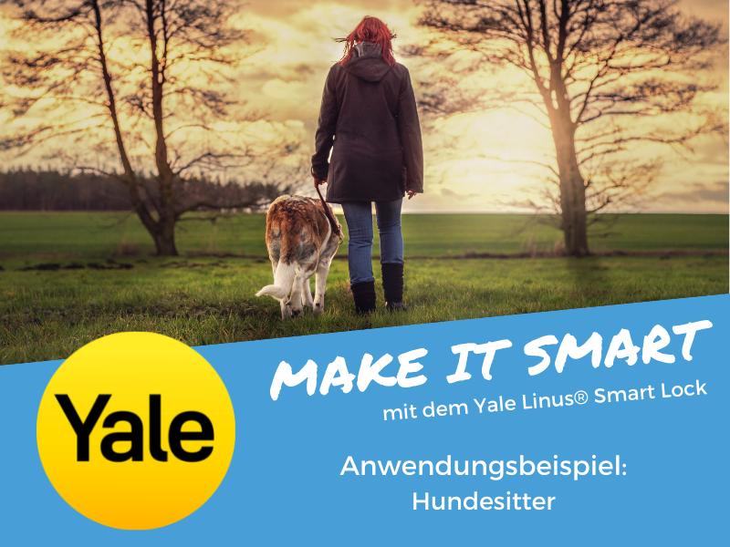 Der smarte Zugang für Ihren Hundesitter