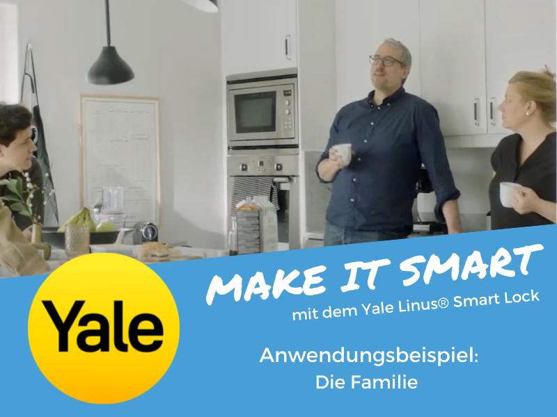 Das Linus® Smart Lock System für die Familie